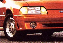 1990 Mustang GT front