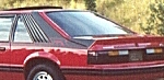 1983 Canadian Mustang GT decal