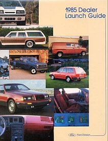 1985 Ford Dealer Launch Guide