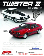 1985 Mustang GT Twister II diecast model press release