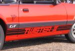 1985 Mustang GT Twister II decal