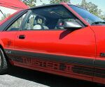 1985 Mustang GT Twister II decals